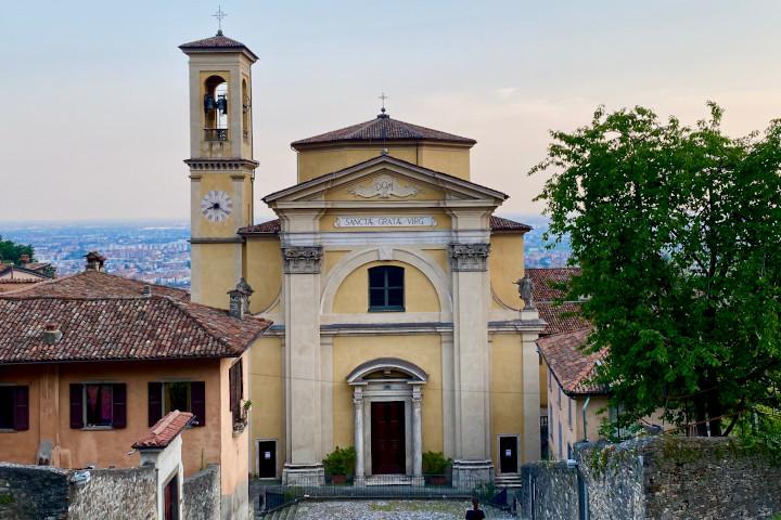 Chiesa di Santa Grata inter Vites, Bergamo