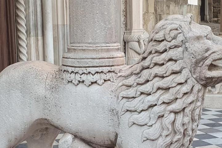 Leoni della Basilica di Santa Maria Maggiore