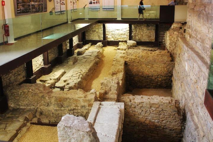 Resti del Foro romano di Bergamo Alta